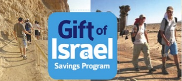 The Gift of Israel Savings Program