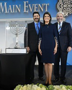 Ambassador Nikki Haley Honored at The Main Event